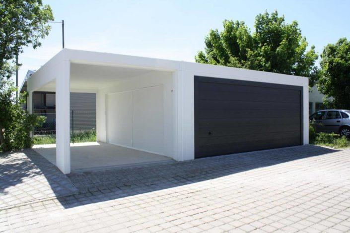 Fertigteilgarage aus Beton
